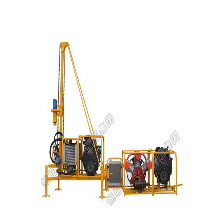 gasoline rock drilling rig