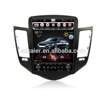 Quatro núcleos! Dvd do carro Android 6.0 para Cruze 2012 com 10,4 polegadas tela capacitiva vertical / GPS / link espelho / DVR / TPMS / OBD2 / WIFI