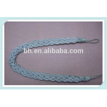 Braid cortina decorativa amarrar corda