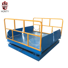 Factory Direct Stationary Hydraulic Scissor Lift Weightlifting Platform for Sale Factory Direct Stationary Hydraulic  Scissor Lift Weightlifting Platform for Sale