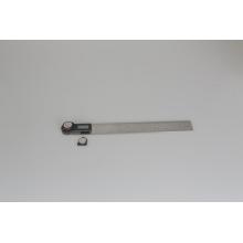 A mão da maquinaria de 300mm utiliza ferramentas o prolongador de ângulo de Digitas da régua de aço inoxidável