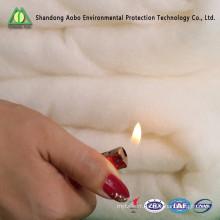 Ouate de polyester thermo-collée ignifuge adaptée aux besoins du client de Gram