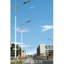 Pólo de lâmpada de braço único de 3,5 m para luz de rua