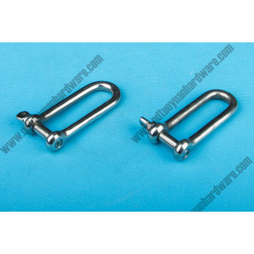 China Manufacturer Long Link Shackle Stainless Steel Rigging