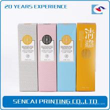 Caja de empaquetado barata del regalo del perfume promocional del proveedor de China