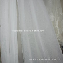 Rideau à carreaux attractif typique Polyester Voile