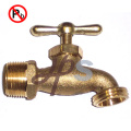 Lead free brass hose nozzle for drinking water system