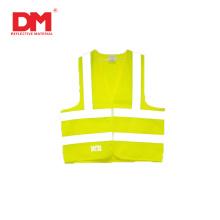 Gilet de sécurité en polyester haute visibilité pour vêtements