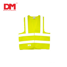 Polyester High Visibility safety vest clothes