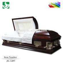 le meilleur gros bois Solid prix dernière Cène fixe cercueil