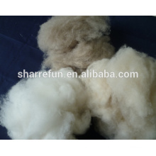 Chinese 100% pure dehaired cashmere fiber supplier