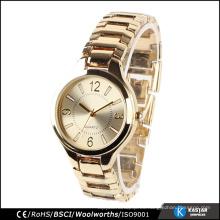 Reloj de señoras juego de regalo con caja de reloj barata reloj hebillas broches