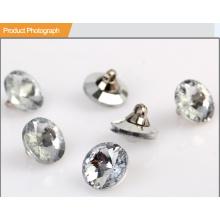 Art- und Weiseplastikknopf-UV-Silber-Knopf für Kleidungsstück BA60364