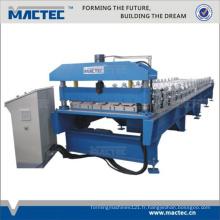 machine de fabrication de toiture en tôle ondulée