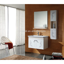 K-1027 nuevo diseño moderno pared estilo baño toalla armario, baño vanidad unidades
