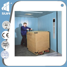 Steel Painted Capacity 3000kg Speed 0.5m/S Freight Elevator