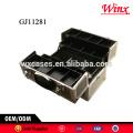 Caixa de ferramenta case duro 2015 China, caixa de ferramenta de alumínio com 4 bandejas plásticas dentro