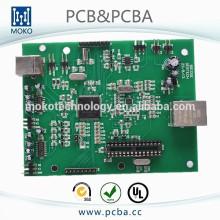 Tablero electrónico por encargo de la máquina de bordar, placa de circuito impresa de la máquina del bordado