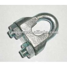 sujetadores Clip de cable de acero inoxidable clip de cable de acero