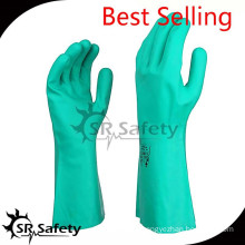 SRSAFETY good quality useful gloves for oil resistance oil and gas gloves safety gloves