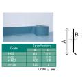 Tablas de goma coloridas del PVC que zurzan para la instalación conveniente de la base de la pared