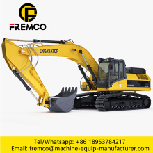 6772mm Digging Depth Excavator Machine