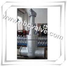 Válvula de entrada soldada cheia industrial completa (Z61Y-630bar)