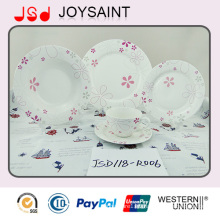 9inch Porcelain Dinnner Set Soup Plate for Home