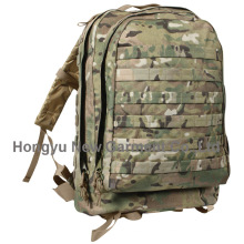 Solid Nylon Wearproof Outdoor Sport Climbing Camping Hiking Backpack (HY-B010)