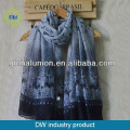 2015 New arrival swallow pattern shawl infinity scarf