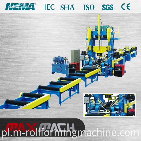 Continuous automatic H-Beam Welding machine