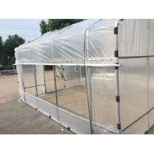 Best Price for for Plastic Film Greenhouse One Stop Garden Greenhouses Construction  For Sale supply to China Hong Kong Wholesale