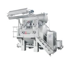 Máquina de teñido de alta temperatura y alta presión sobre flujo