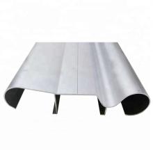 Standard 6063 T5 Extrusion Aluminum Stair Handrail Profile
