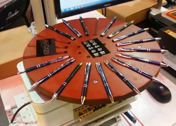 metal pen laser engraving machine