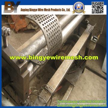 Metal perforado utilizado en la industria agrícola