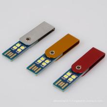 Hot sales clavier portable usb led alimentation petite lumière de nuit