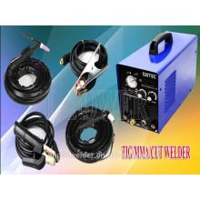 Новый электрический переменного тока DC TIG сварочный аппарат плазма с педалью 110/220вольт