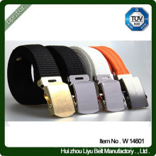 Latest Design Alloy Buckle Custom Army Waist Belt