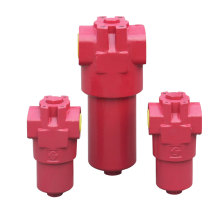 High pressure hydraulic lubricant filter housing