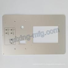 Panneau en aluminium de usinage de plat de fraisage de commande numérique par ordinateur pour des instruments et des accessoires de sonde