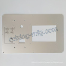 CNC Филируя подвергая механической обработке плита алюминиевая панель для инструментов и аксессуаров для датчиков