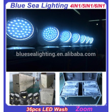 2015 hotsale guangzhou éclairage 36pcs x 15w RGBWA 5in1 lavage led