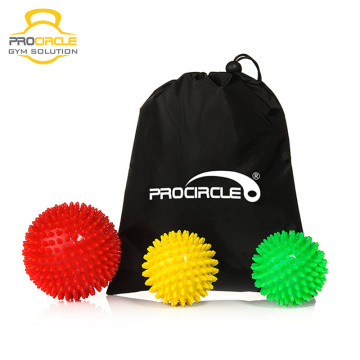 Massage Körper Fuß Spiky Massage Ball Set