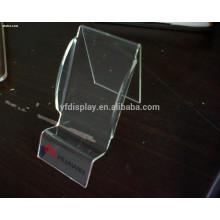 Exposição acrílica transparente de alta qualidade do telefone móvel