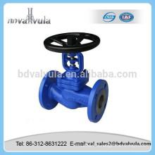 Válvula de globo de aço fundido pn16 fabricante válvula de globo GB