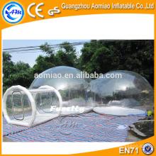 Dôme gonflable de haute qualité, tente de plage gonflable, tente igloo gonflable pour location