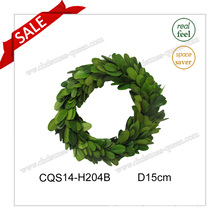 D15cm Wedding Occasion and Decorative Preserved Boxwood Wreath Flower
