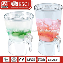 Guangzhou HAIXIN plastic honey juicer dispenser