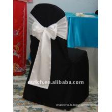 Couverture de chaise de banquet standard, housse de fauteuil élégant CT241